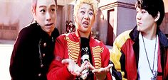 Block b P.O Kyung Zico funny GIF and yet, we still loves these goobers! kekekeke!
