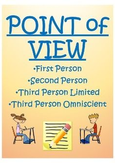 This all inclusive lesson plan prepares students to master the concept of POINT OF VIEW. (1st person, 2nd person, 3rd person limited, and 3rd person omniscient)It includes-Do now/Bellringer (Thinking about point of view)-Guided Notes- Point of View (1st, 2nd, 3rd limited, 3rd omniscient)-Guided Practice (Identify point of view and provide text evidence)-Independent Practice (Identify point of view and provide text ...