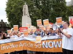BLACKOUT: Media Ignores Pro-Brexit Demo But HUNDREDS Of Articles Published On Pro-EU Protest