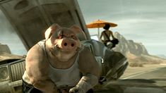 Ubisoft Has Already Some Ideas For Beyond Good And Evil 2.  I want this game to happen so badly.