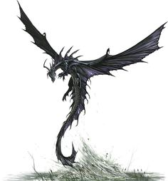 Black Dragon, take off by BenWootten.deviantart.com on @deviantART