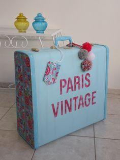 VALIJA VINTAGE - Vintage y Reciclado - Muebles Artesanales - 396502