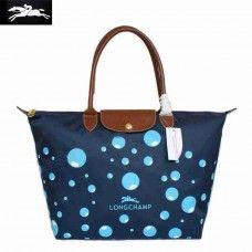 Cheap Longchamp Bubble Bags Blue