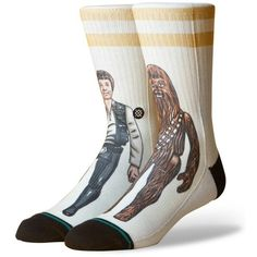 8aaaf19bd7e5 Men s Stance Star Wars Smuggler Trade Socks ( 20) ❤ liked on Polyvore  featuring men s