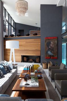 A holiday home in Pezula, South Africa as featured in House and Leisure | Interiors by Magda Viotti & Tania Reddering.