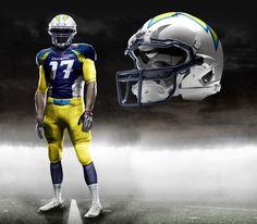 67cb8f70 Check Out These INSANE NFL Uniform Designs - Business Insider New Nfl  Uniforms, Sports Uniforms