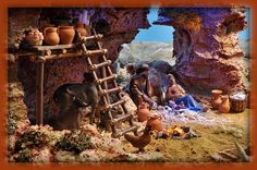 1 million+ Stunning Free Images to Use Anywhere Diorama, Christmas Presents, Christmas Holidays, Free To Use Images, Christmas Villages, High Quality Images, Nativity, Medieval, Projects To Try