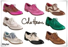 Cole Haan Skylar Oxford Shoes Collection