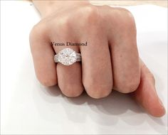 round diamond ring 5.66 carat/Ecolor/internally Flawless