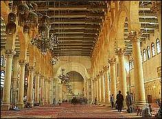 mezquita damasco interior - Buscar con Google