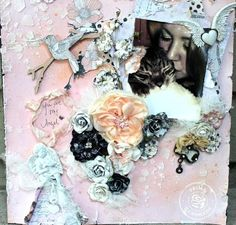 Layout by Juliana Montoya using Prima's Rondelle collection