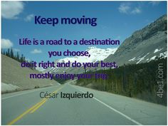 Life is a road