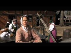 [Jamestown Settlement] VIDEO [Jamestown Chronicle: Colonial Maid]: Ann Burras was one of the first English women in Jamestown, arriving in October 1608. Ann married a laborer, John Laydon and was still living in Virginia in 1625.