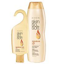AVON - SKIN SO SOFT Signature Silk 2-Piece Bath & Body Set. Both for $7.00