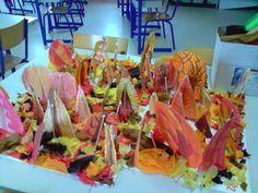 Ecole Sainte-Thérèse PLOUGOULM - Forêt d'automne