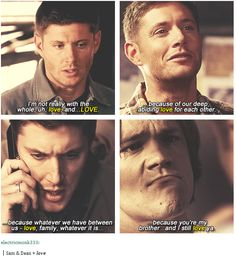 (I am not going to comment on Sam's sad moose face. Nope.)