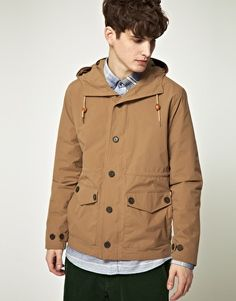 Samsoe & Samsoe Hooded Field Jacket  $284.69 www.asos.com