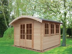 Cabins Unlimited - Shepherd Hut Style Log Cabin with Rounded Roof, £2,081.00 (http://www.cabinsunlimited.co.uk/shepherd-hut-style-log-cabin-with-rounded-roof/)