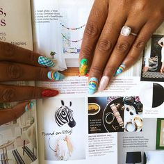#TBT That one time we were featured in an issue of @dominomag . (Also how fun is my new #wizardofoz  #mani !) by studiomucci