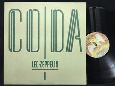 Led Zeppelin - CODA Canada Pressing Swan Song Label #LPs Vinyl Record