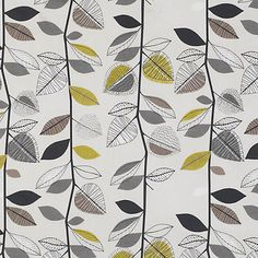 Buy John Lewis Autumn Leaves Fabric Online at johnlewis.com