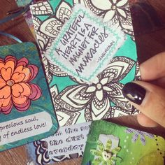 Doodling put to good use for the #carddeckswap ! Card by Jen Millspaugh