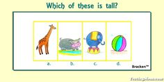 Can your preschooler answer this practice question for the #BSRA test?