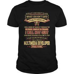 (Tshirt Deal Today) MULTIMEDIA-DEVELOPER [Hot Discount Today] Hoodies, Funny Tee…