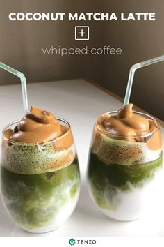 Tenzo created a high-quality matcha green tea powder. It's clean, green, caffeine, without the jitters or crash. Checkout the Tenzo Communitea today! Yummy Drinks, Healthy Drinks, Healthy Snacks, Healthy Eating, Yummy Food, Healthy Recipes, Tea Recipes, Coffee Recipes, Smoothie Recipes