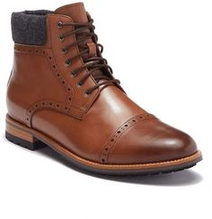 8c6e1860d9c Warfield   Grand Grady Leather Mid-Top Boot Boyfriend Gifts