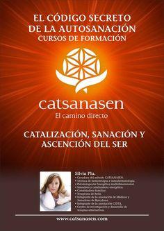 Cursos de Formación:: Silvia Pla en Argentina.CURSO FORMACIÓN EL CÓDIGO SECRETO DE LA AUTO SANACIÓN  FASE INICIO ARGENTINA 2014 SEPTIEMBRE 12, 13 Y 14  Barrio Colegiales  VIERNES 12 -  17 a 20 hs SÁBADO 13 y DOMINGO 14  -  10:30 a 18:30 hs  www.catsanasen.com https://www.youtube.com/watch?v=43_inbKa1p0#t=912  Sesiones Individuales en Buenos Aires   Consultas, Sesiones e Inscripción : catsanasenargentina@gmail.com 15 68356099 011 47860049