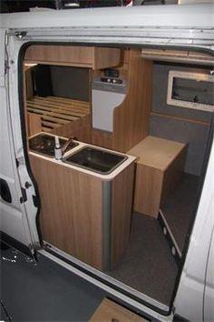 Grote foto fiat ducato van bus naar camper l2h2 mh2 caravans en kamperen caravan accessoires
