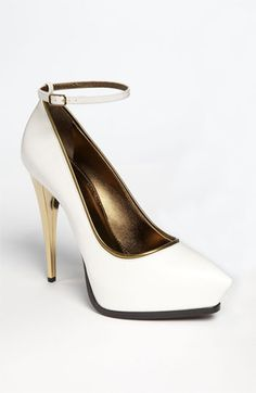 These shoes mean business-- parlay? [Lanvin Ankle Strap Pump available at #Nordstrom]