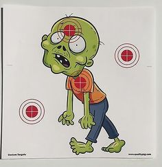 40-Zombie-Paper-Shooting-Targets