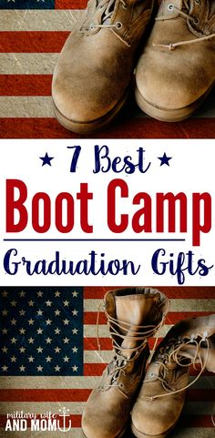 7 Boot Camp Graduation Gifts That Will Make Your Service Member Smile Best boot camp graduation gifts to share with your service member. Whether you're a military spouse, significant other or family member, these are perfect. Marine Gifts, Army Gifts, Military Gifts, Military Spouse, Military Girlfriend, Military Party, Military Deployment, Military Service, Deployment Party