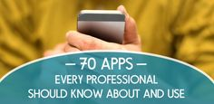 Best Apps for 2015 - Career Apps - The Muse 70 Apps Every Professional Should Know About and Use