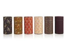 Kimono Fabric Tea Tins