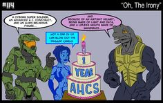 Another Halo Comic Strip Gamer Humor, Gaming Memes, Halo Funny, Halo Armor, Halo Master Chief, Halo Collection, Halo Game, Tg Tf, Minecraft Survival