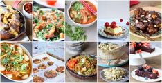 Crazy healthy dessert recipes for breakfast, after lunch and after dinner. These great desserts are the best snacks during the day, as they are. Healthy Dessert Recipes, Vegan Recipes, Lemon Cheese, Quick Vegan Meals, Ras El Hanout, Oven Dishes, Going Vegan, Superfood, Food For Thought