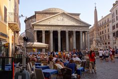 pantheon in august