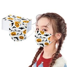 1//6//10PCS Face Bandanas Hairband Kids Boys Girls Reusable Printed Breathable Cycling Funny Washable Cotton Cloth Fabric