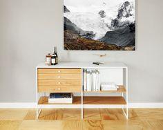 Modiste Furniture 600 series Arabescato marble version, Remodelista