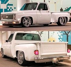 click picture to check out our merch store Chevy Trucks Lowered, Custom Chevy Trucks, Chevy Pickup Trucks, Classic Chevy Trucks, Lifted Ford Trucks, Chevrolet Trucks, 1957 Chevrolet, Chevrolet Impala, Chevrolet Silverado