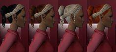 Plum Bob Keep: 15 Victorian & Regency Hairs by Lidiqnata [More Hairs] - Regency Shawl