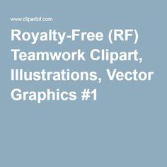 Royalty-Free (RF) Teamwork Clipart, Illustrations, Vector Graphics #1