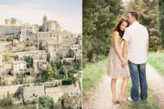 PHOTOGRAPHY:  Idea of engagement/wedding photos (on the right)
