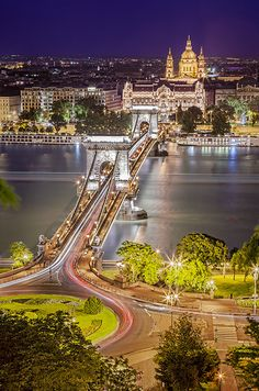 View of Pest from Buda hill, Hungary