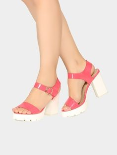 cd40bd4a03ac Buy Abof Coral Faux Leather Sandals online
