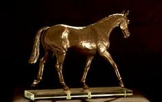 """""""Talisman"""" Bronze exhibited at American Academy of Equine Art Fall Juried Show"""
