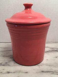 Fiesta® Dinnerware Jam Jar in Flamingo. Made America by the Homer Laughlin China Company   eBay